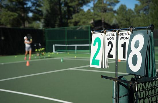 テニス スコア