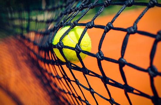 テニスコート ネット